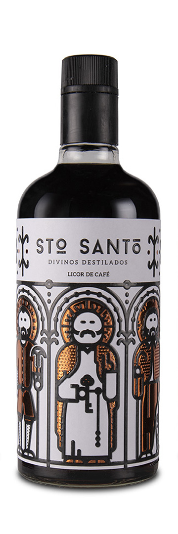 Licor de café Natural Stō SANTō